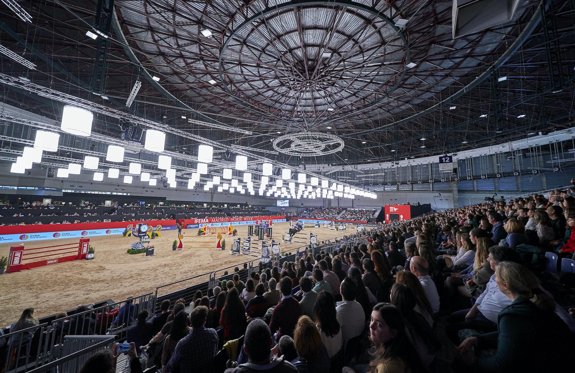 IFEMA MADRID HORSE WEEK CONFIRMA LA CANCELACIÓN DE SU EDICIÓN  2020